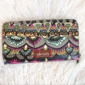 Sakroots Large Bohemian Multiple Color Wallet